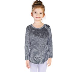 Abstract Art Decoration Design Kids  Long Sleeve Tee