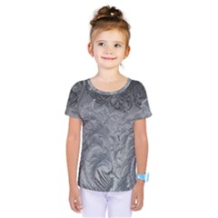 Abstract Art Decoration Design Kids  One Piece Tee