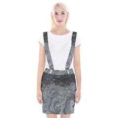Abstract Art Decoration Design Braces Suspender Skirt