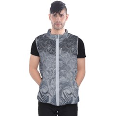 Abstract Art Decoration Design Men s Puffer Vest