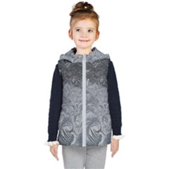 Abstract Art Decoration Design Kid s Puffer Vest