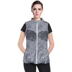 Abstract Art Decoration Design Women s Puffer Vest