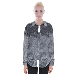 Abstract Art Decoration Design Womens Long Sleeve Shirt