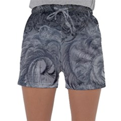 Abstract Art Decoration Design Sleepwear Shorts
