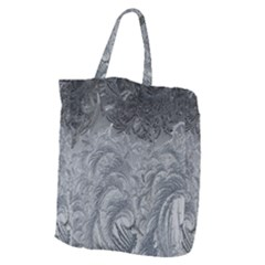 Abstract Art Decoration Design Giant Grocery Zipper Tote