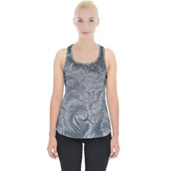 Abstract Art Decoration Design Piece Up Tank Top