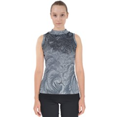 Abstract Art Decoration Design Shell Top