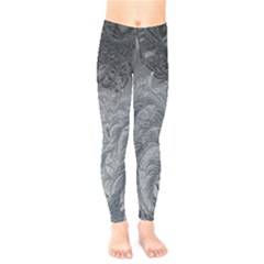 Abstract Art Decoration Design Kids  Legging