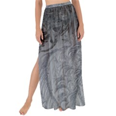 Abstract Art Decoration Design Maxi Chiffon Tie Up Sarong