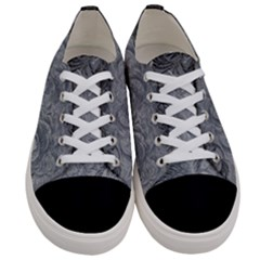Abstract Art Decoration Design Women s Low Top Canvas Sneakers