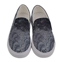 Abstract Art Decoration Design Women s Canvas Slip Ons