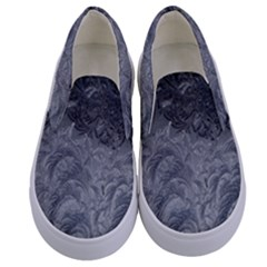 Abstract Art Decoration Design Kids  Canvas Slip Ons