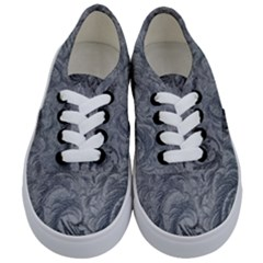 Abstract Art Decoration Design Kids  Classic Low Top Sneakers