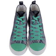 Abstract Art Decoration Design Women s Mid Top Canvas Sneakers