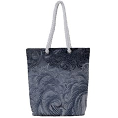 Abstract Art Decoration Design Full Print Rope Handle Tote (small)