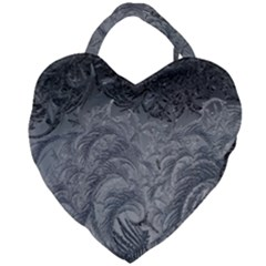 Abstract Art Decoration Design Giant Heart Shaped Tote