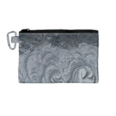 Abstract Art Decoration Design Canvas Cosmetic Bag (medium)