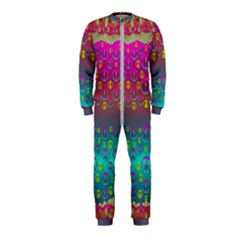 Years Of Peace Living In A Paradise Of Calm And Colors Onepiece Jumpsuit (kids)