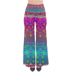 Years Of Peace Living In A Paradise Of Calm And Colors Pants