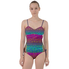 Years Of Peace Living In A Paradise Of Calm And Colors Sweetheart Tankini Set