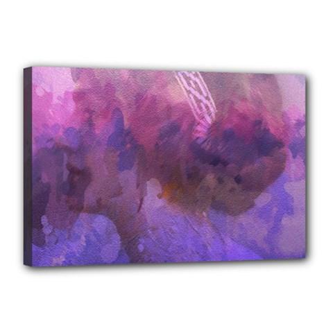 Ultra Violet Dream Girl Canvas 18  X 12