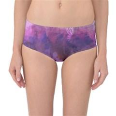 Ultra Violet Dream Girl Mid Waist Bikini Bottoms