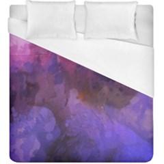 Ultra Violet Dream Girl Duvet Cover (king Size)