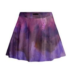 Ultra Violet Dream Girl Mini Flare Skirt