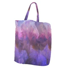 Ultra Violet Dream Girl Giant Grocery Zipper Tote