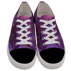 Ultra Violet Dream Girl Women s Low Top Canvas Sneakers