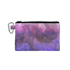 Ultra Violet Dream Girl Canvas Cosmetic Bag (small)