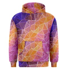Crystalized Rainbow Men s Pullover Hoodie