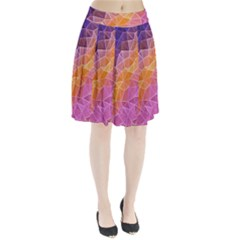Crystalized Rainbow Pleated Skirt