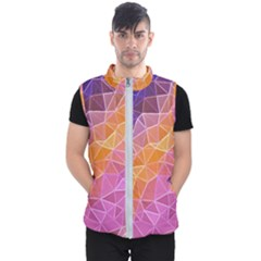 Crystalized Rainbow Men s Puffer Vest