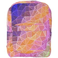 Crystalized Rainbow Full Print Backpack