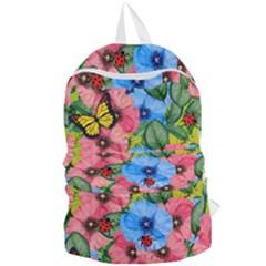 Floral Scene Foldable Lightweight Backpack
