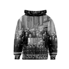 1927 Solvay Conference On Quantum Mechanics Kids  Pullover Hoodie