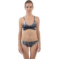 1927 Solvay Conference On Quantum Mechanics Wrap Around Bikini Set