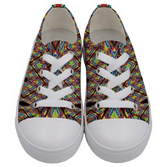 Help One Kids  Low Top Canvas Sneakers