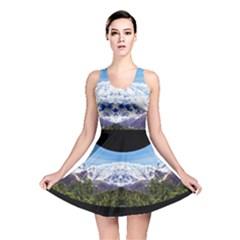 Mountaincurvemore Reversible Skater Dress