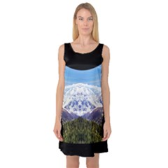 Mountaincurvemore Sleeveless Satin Nightdress