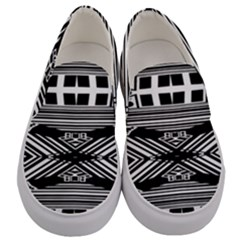 Zodiac House Of Time Men s Canvas Slip Ons