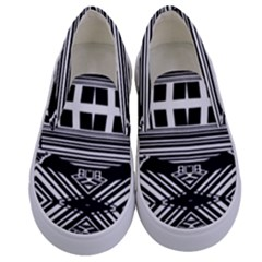Zodiac House Of Time Kids  Canvas Slip Ons