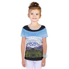 Mountaincurvemore Kids  One Piece Tee