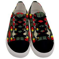 Space Eye Men s Low Top Canvas Sneakers