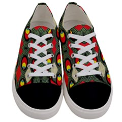 Space Eye Women s Low Top Canvas Sneakers