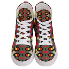 Space Eye Men s Hi Top Skate Sneakers