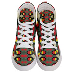 Space Eye Women s Hi Top Skate Sneakers