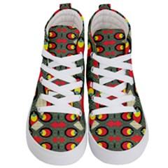 Space Eye Kid s Hi Top Skate Sneakers