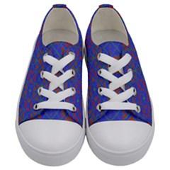 Matrix Moon Kids  Low Top Canvas Sneakers